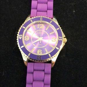 Accessories - Large purple watch